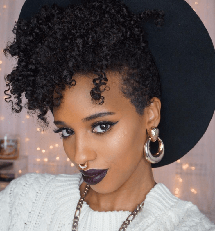 Twist Curl On Big Chop With Hair Extensions Big Chop Hair