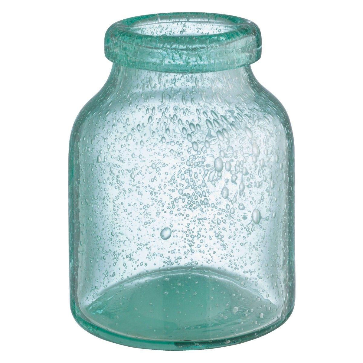 BUBBLE Blue bubbled glass vase | Gift ideas | Pinterest