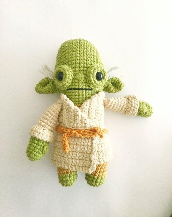 Master Yoda -Crochet Pattern/amigurumi | Pinterest | Patrón de ...