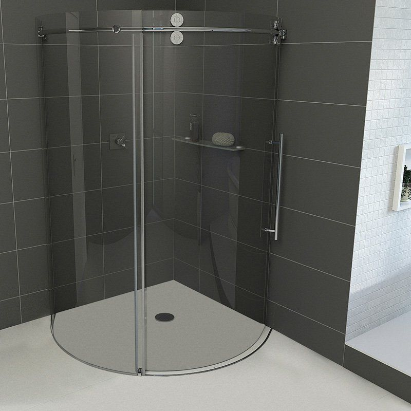 Vigo Vg603140 40625w X 74625h In Clear Glass Shower Enclosure