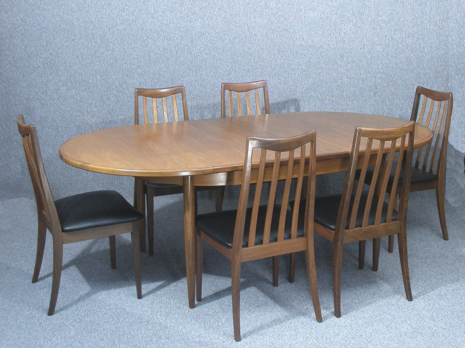 G Plan Extending Dining Table Six Chairs Vintage Teak Table And Chairs Dining Table And Chairs G Plan Table And Chairs Free Delivery Dining Table Extendable Dining Table Oval Table