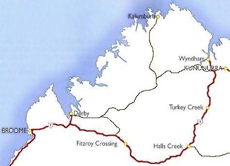 gibb river road map wwwthekimberleycollectioncomau