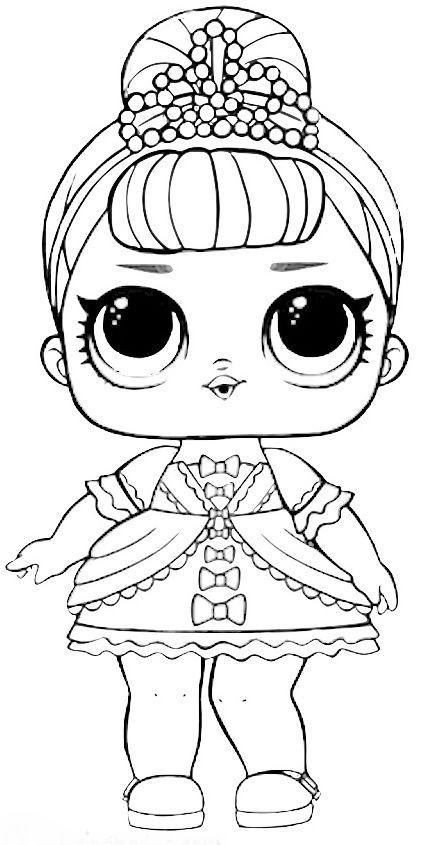 Boneca LOL para colorir | mariana | Pinterest | Dibu, Colorear y ...
