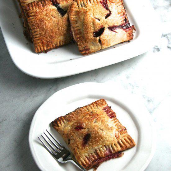 Blackberry & Raspberry Hand Pies- wonderful for breakfast or dessert!