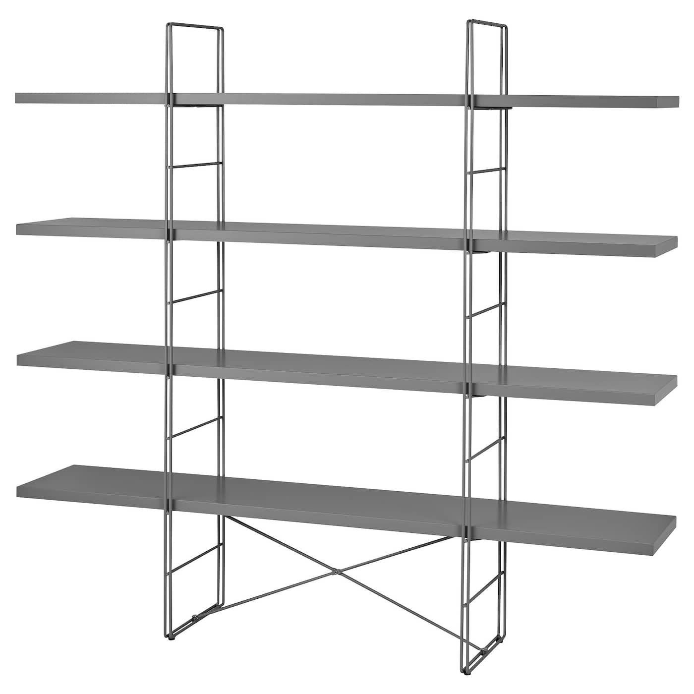 Enetri Regal Grau Regal Ikea Und Schrankwand