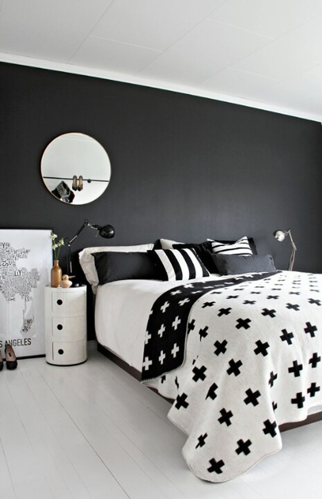 interior design inspiring bedrooms via bloglovincom interieur inspiratie slaapkamer zwart wit