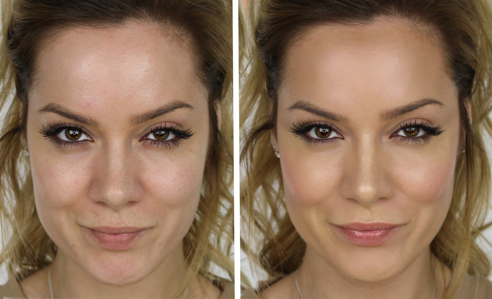 Flawless Foundation Makeup Tutorial Natural Looking Highlight