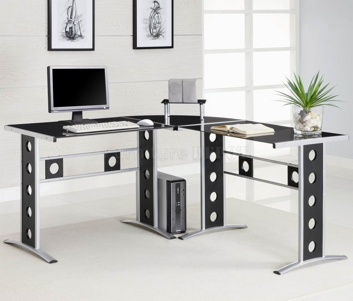 Contemporary home office desks office desks will be the most crucial part of any office no office can function with no de
