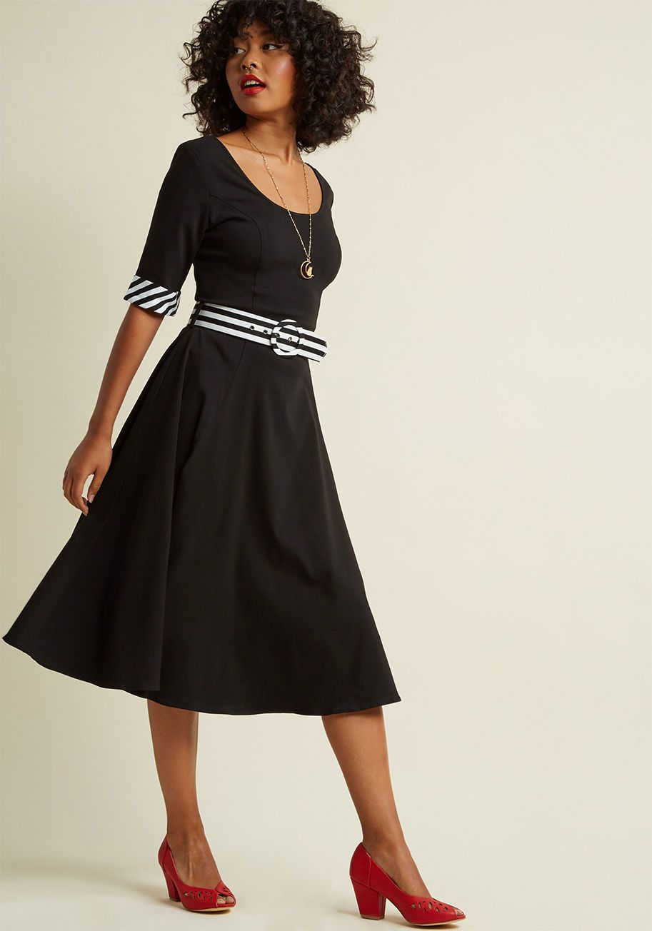 a708c1c204f2 Collectif Effortless Edit A-Line Midi Dress - Only garments with timeless