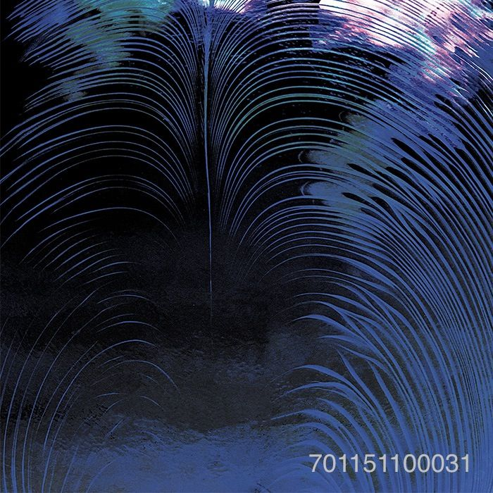 Black Wisp | Custom Murano Glass Wall Panel. Reference the model # in the lower right corner of the image to request a sample.
