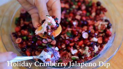 Cranberry Jalapeño Dip: The Most Addictive Holiday