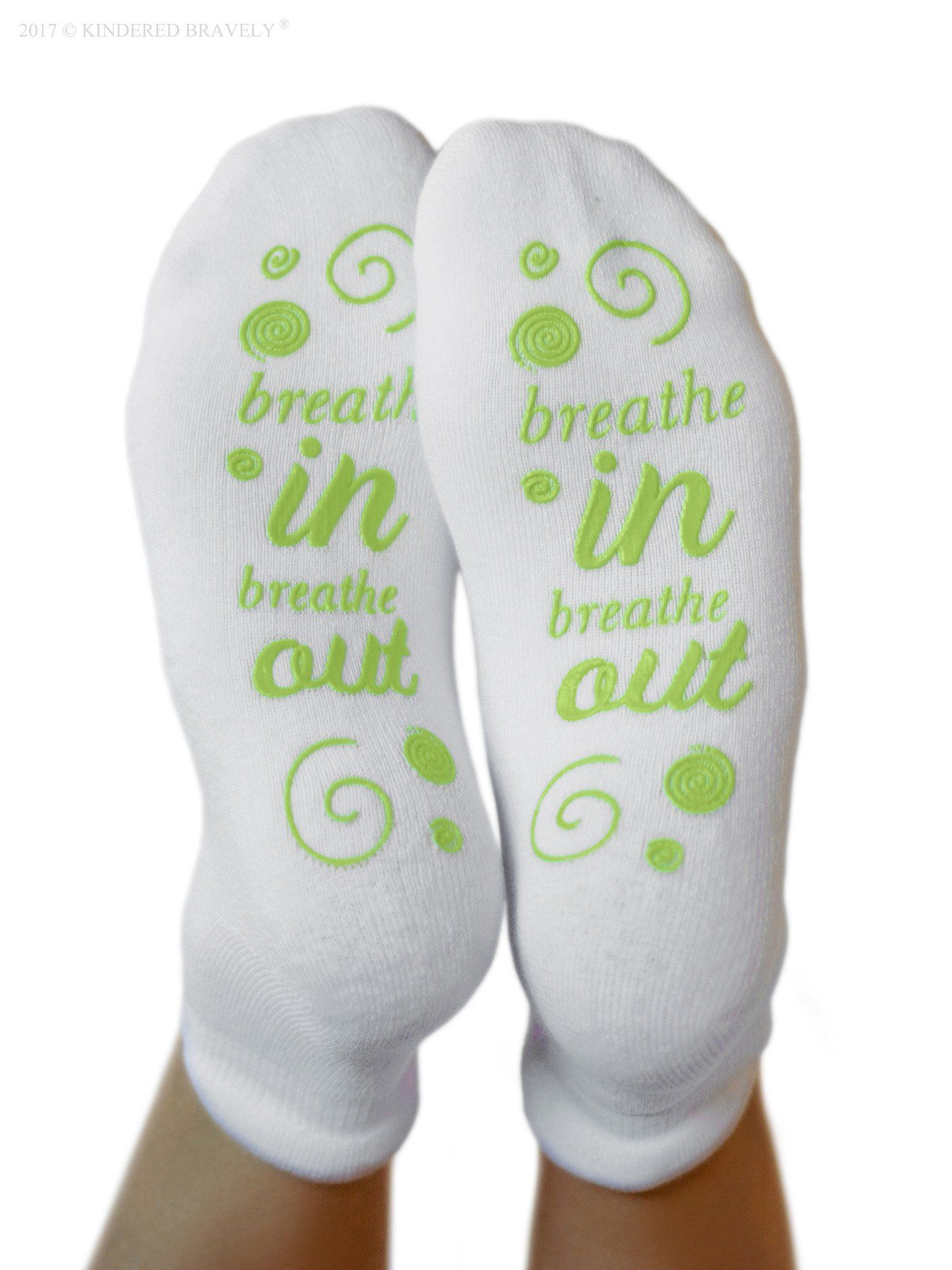 Labor Delivery Inspiration Hospital Non Skid Push Socks for Maternity Pregnancy