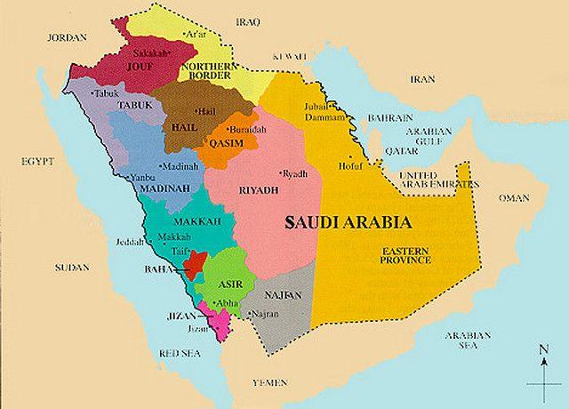 Saudi Arabia Saudi Arabia Map Bible Mapping