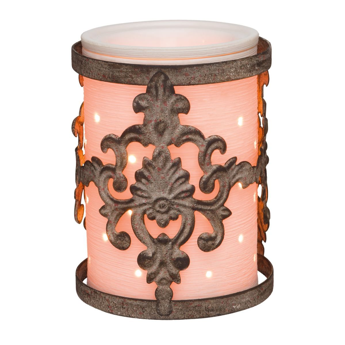 Damask Wrap with Etched Core!! Scentsy, Candle wax