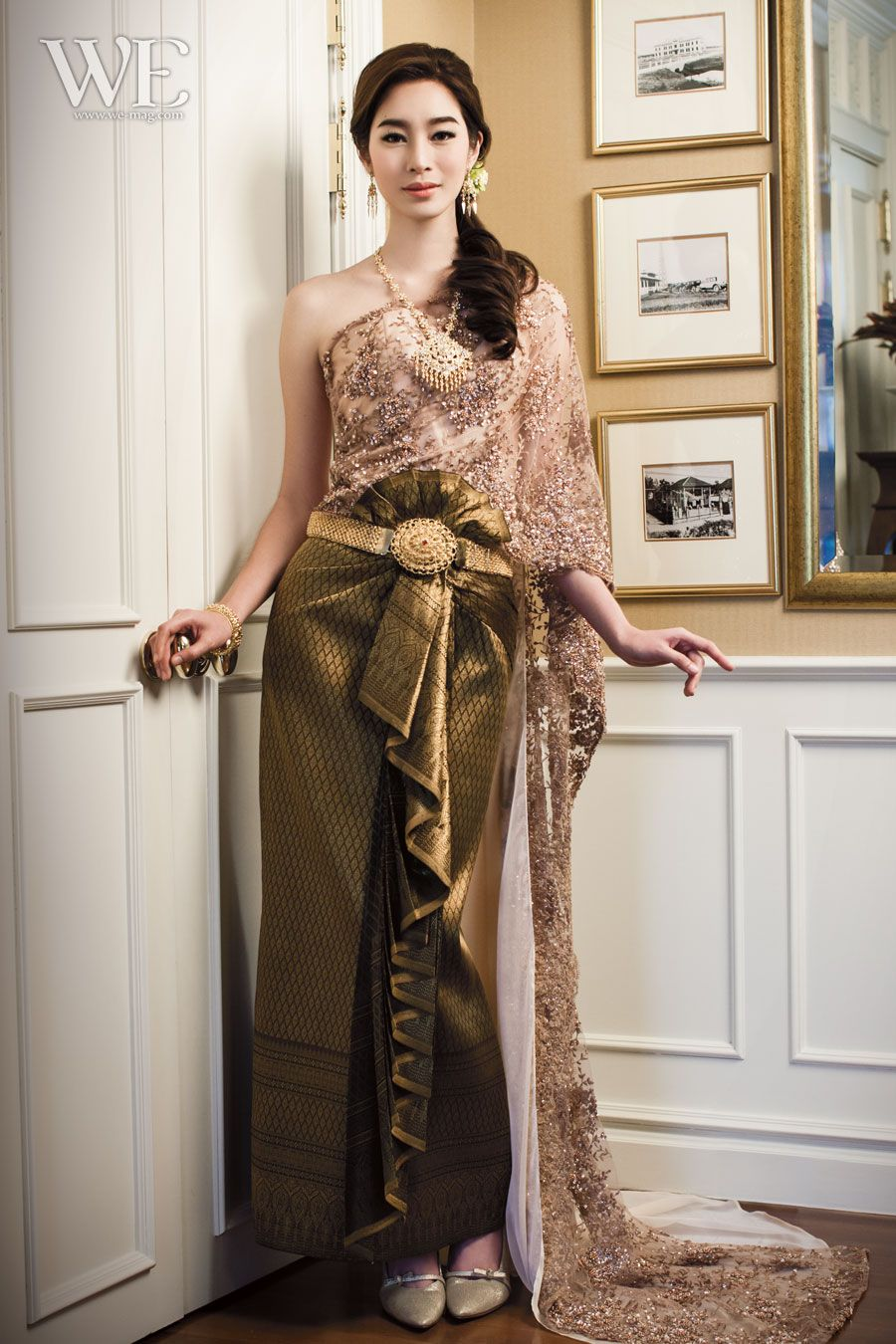 Traditional Thai dresses http://www.we-mag.com/ | ·° Traditional ...