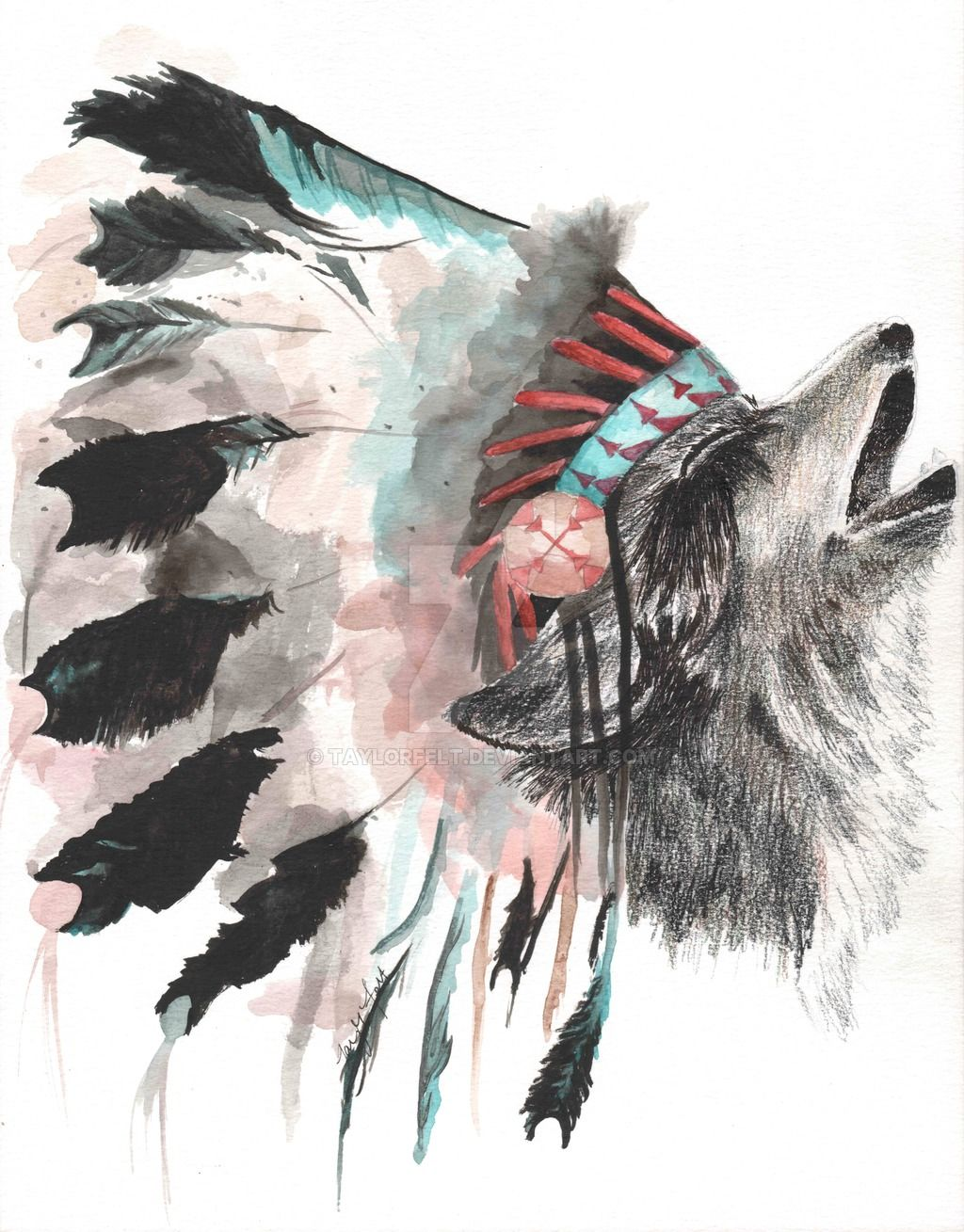 Animal headdress art