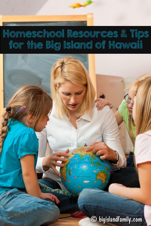 Homeschool Resources & Tips for the Big Island of Hawaii