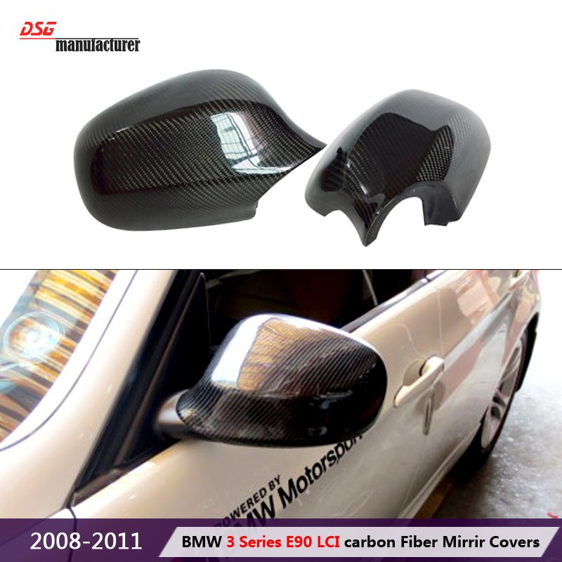 replacement type e90 lci facelift car styling wing mirror