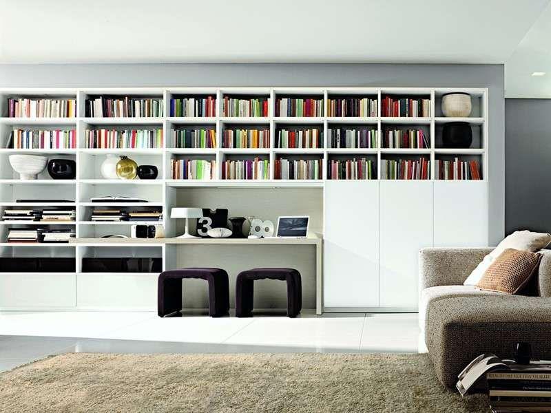 Librerie componibili modulari | Italian Style | Bookcase, Shelves ...