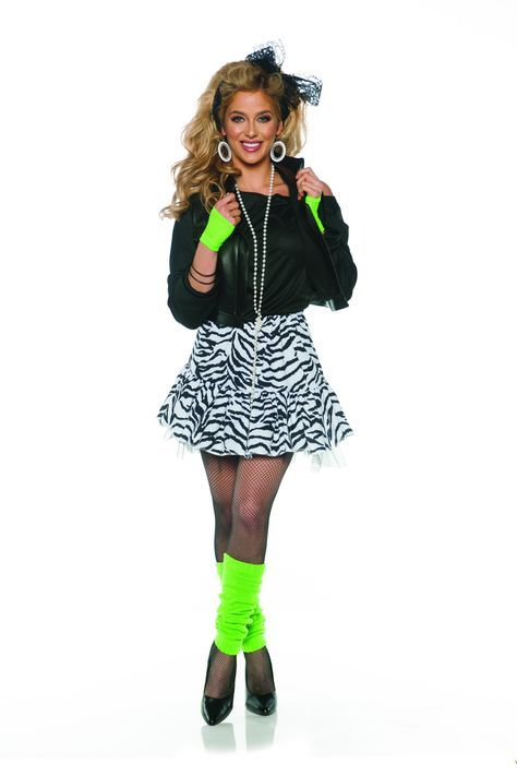 Best fashion 80s ideas 1980s ideas - Vestidos de los 80, Fiestas de disfraces de los 80s ...