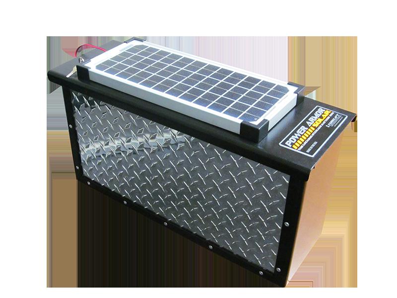 The Powerarmor Solar Is A High Quality Locking Aluminum Battery Box Torklift Powerarmor Batterybox Lockingstorage Preventth Rv Battery Rv Battery Storage