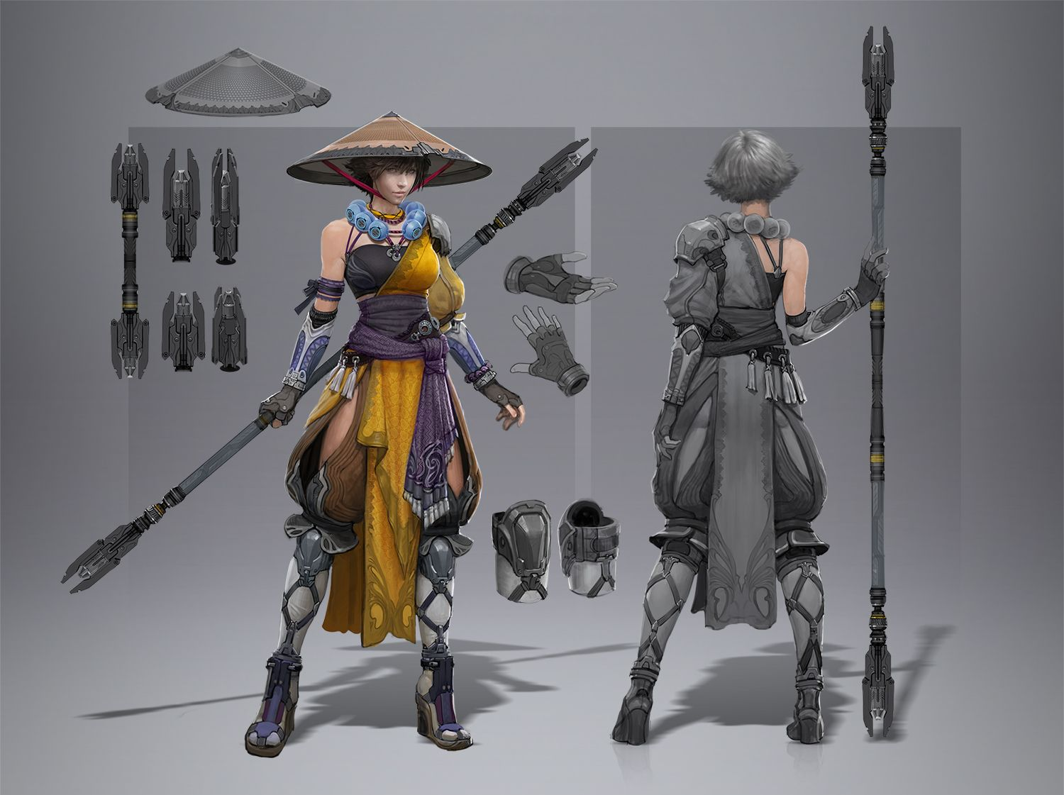 Character Design Forge : Monkfem by armandeo skyforge female monk fighter ranger