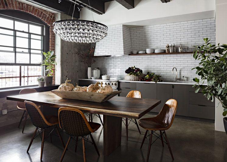 Portland Kitchen Design Jessicahelgersoninteriordesignportlandloftkitchen©Lincoln