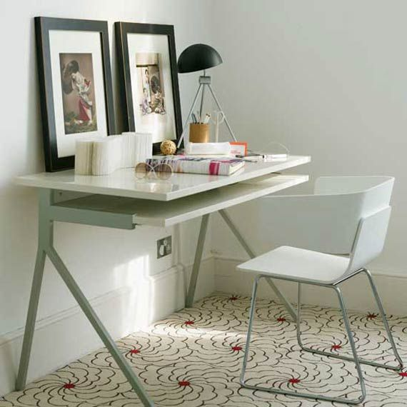 Small+Office+Desk+Designs | Small Modern Home Office Desk Design