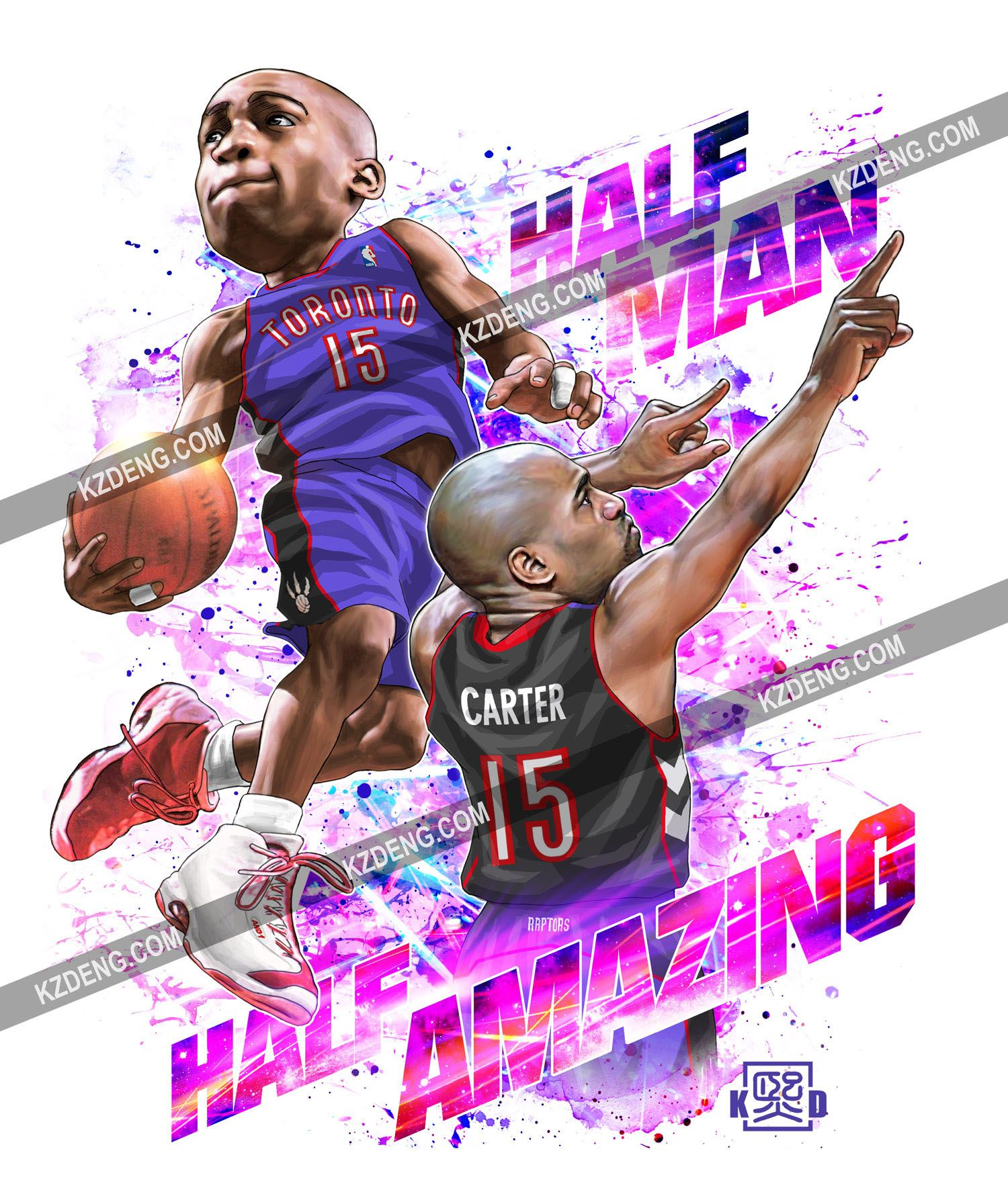 Half Man Half Amazing  Nba basketball art, Nba art, Basketball is