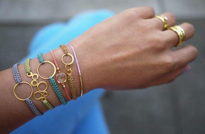 Materiales para hacer pulseras de moda