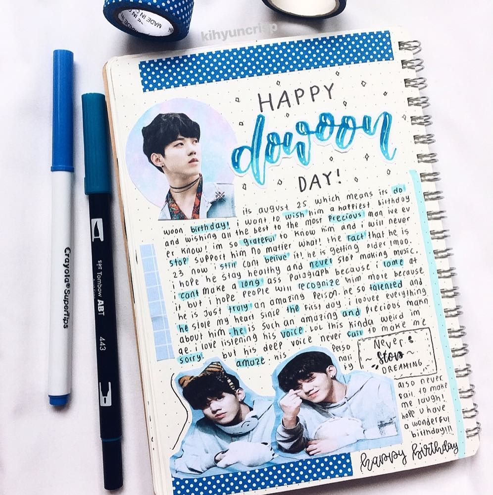 27 KPop Bullet Journal Ideas for dedicated fans!