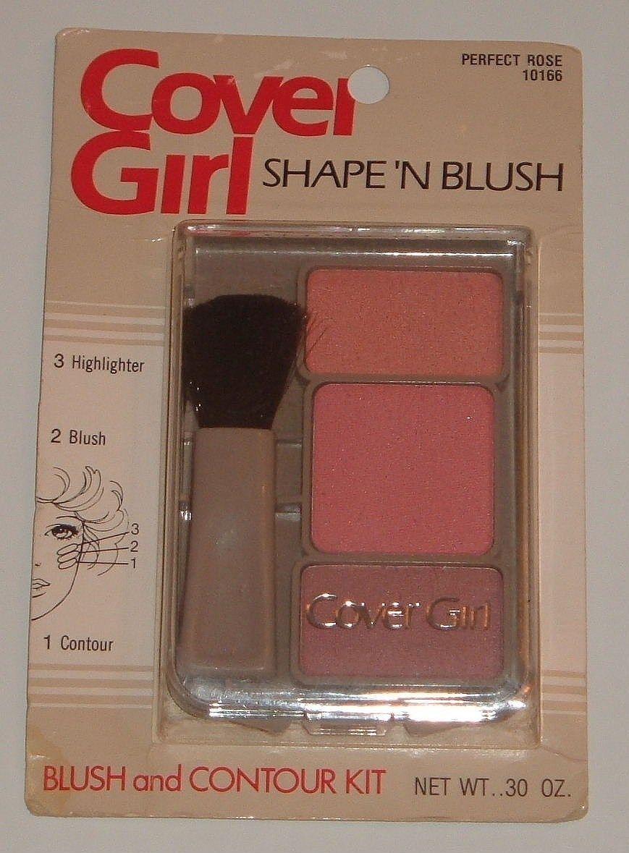 CoverGirl RARE Vintage 80's Shape 'N Blush Contour Kit