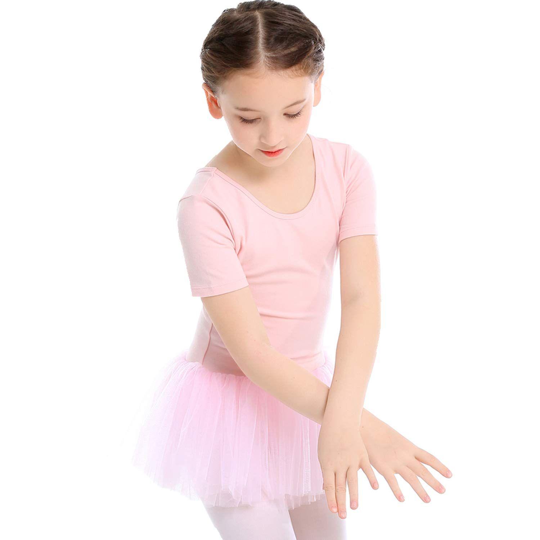 Gymnastics Koolen Ballet Dress 2Pcs Ballet Clothes Toddler//Girls Tutu Dress /& Leotard for Dance