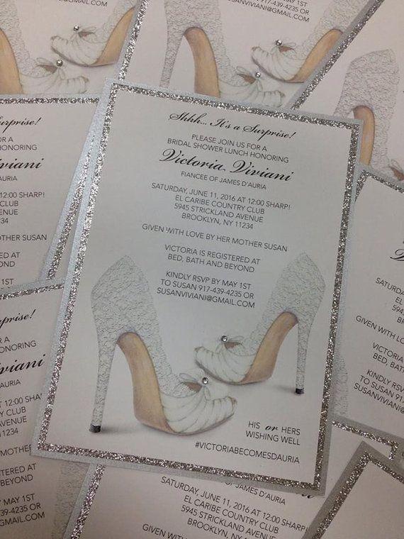 bridal shower invitation shoe invitation birthday invitation bridal shower shoe invitation shoe theme invitation sweet 16 invitation