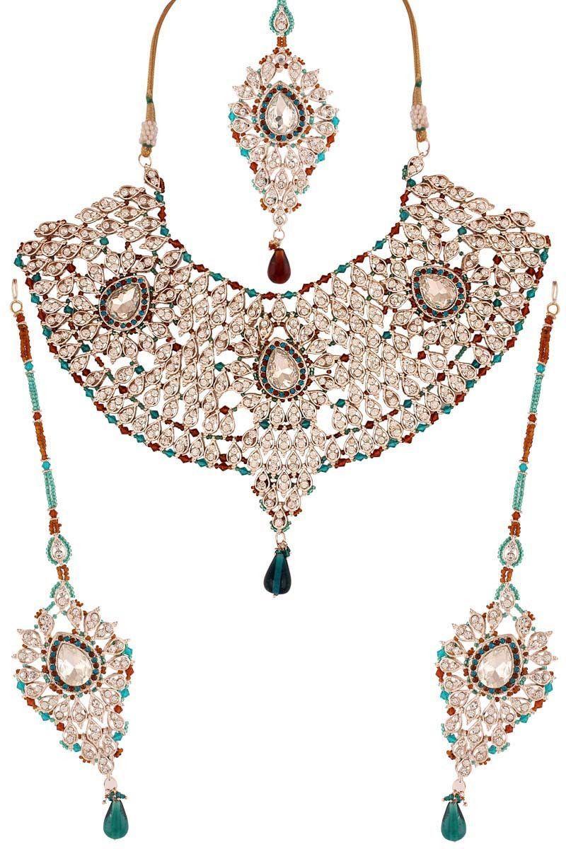 197e94110d Variation - Online Shopping for Sarees, Salwar Suits and Lehenga Choli. Bridal  Necklace Set ...