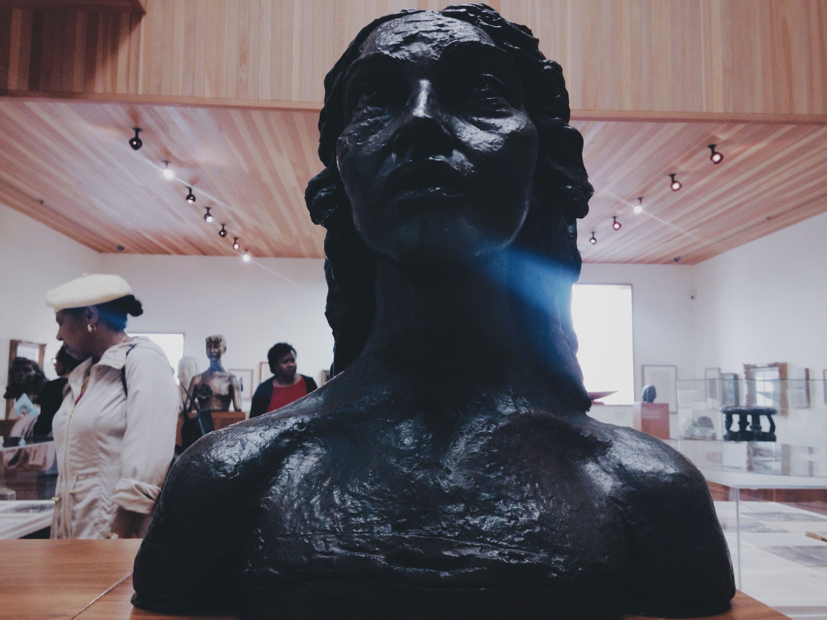 A Photograph of a Sculpture in The Walsall Museum