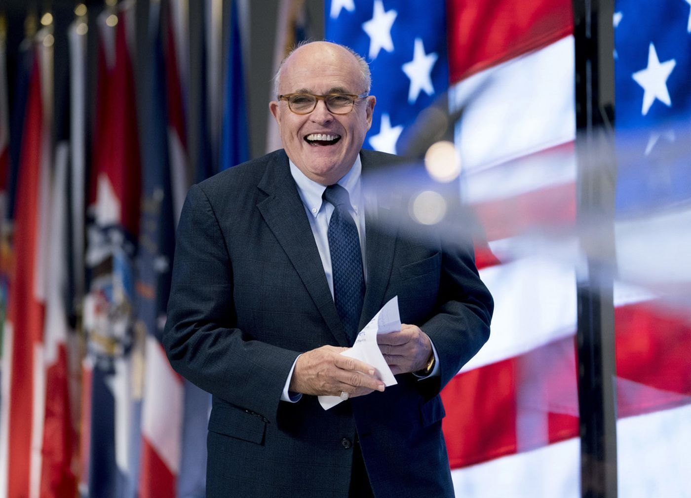 Rudy Giuliani Says Trump Probably Does Have The Power To Pardon Himself But Won T Do It Rudy Giuliani Iran Today Trump