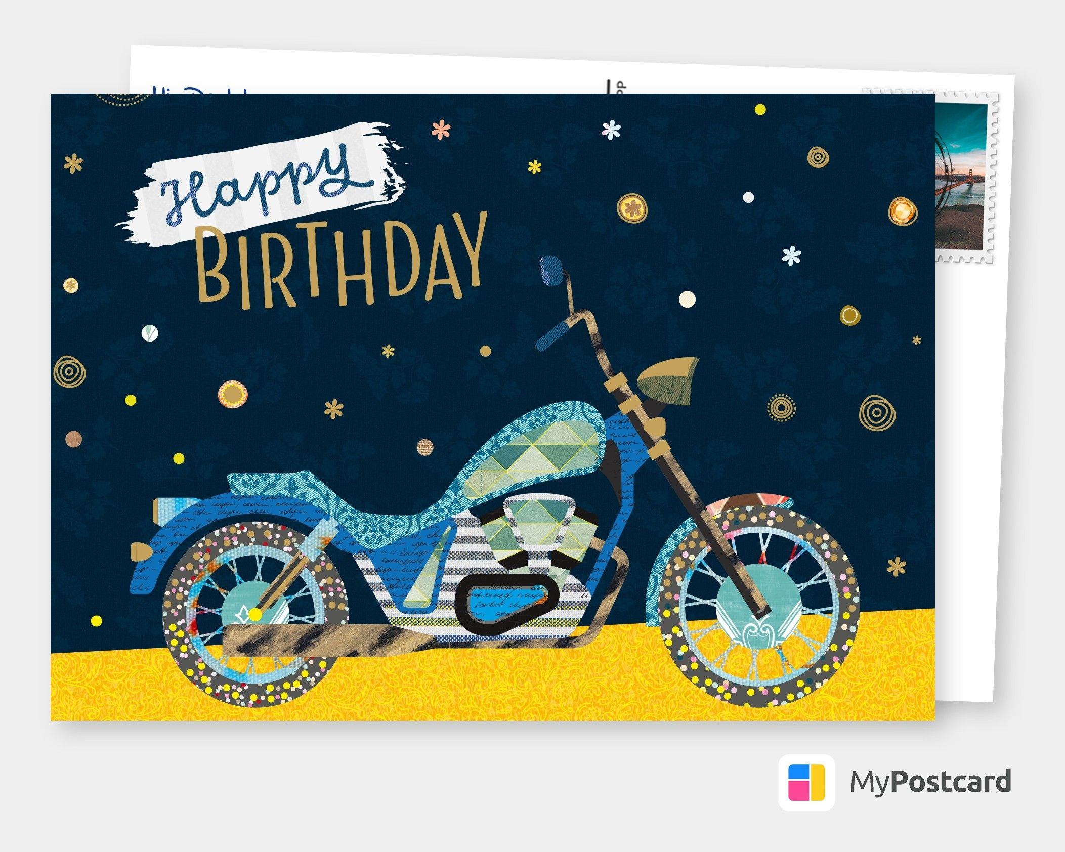 Personalized Free Happy Birthday Cards Templates Printable And Mailed For You International Free Shipping Worldwide Postcard Service Or Postcards App Happy Birthday Cards Birthday Card Template Free Happy Birthday Cards