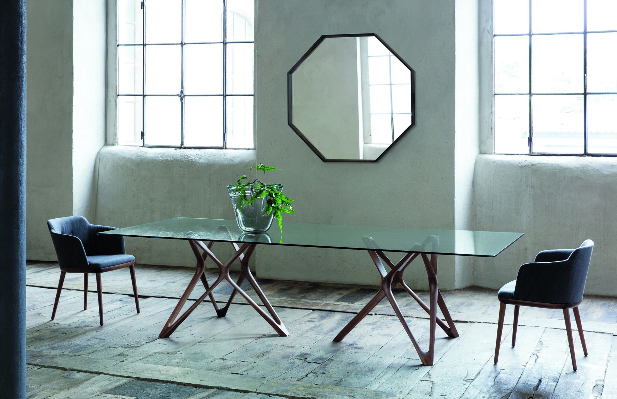 Porada Mobili ~ Circe table and celine chairs by porada sixteen collection