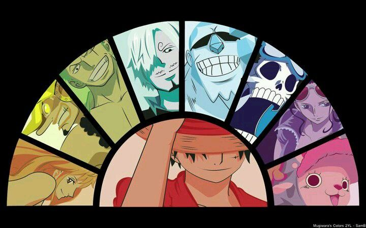 Mugiwara Crew One Piece Crew One Piece New World One Piece Manga