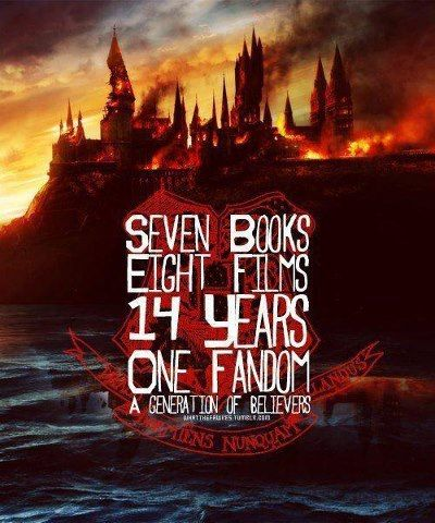 Harry Potter Seven Books 3 Eight Films 3 14 Years 3 One Fandom 3 A Generation Of Believers Harry Potter Obsession Harry Potter Harry