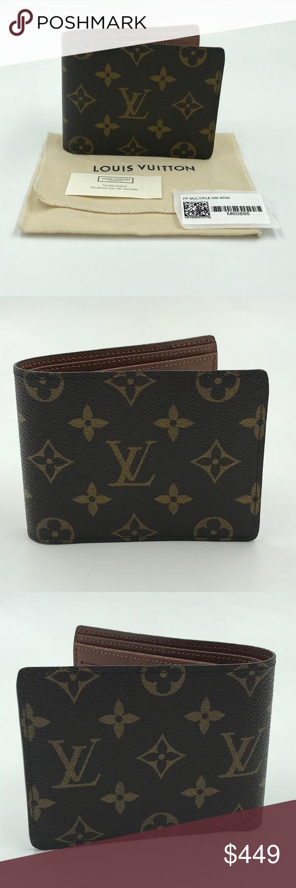 073ad58df52f Louis Vuitton Monogram Multiple Wallet This is an authentic Louis Vuitton  Multiple Wallet in monogram canvas