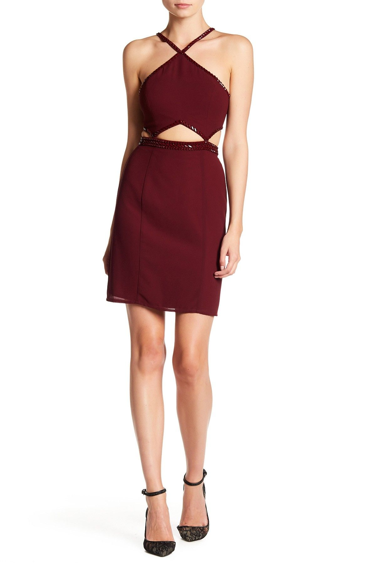 Minuet jewel strap backless dress jewel nordstrom and free shipping