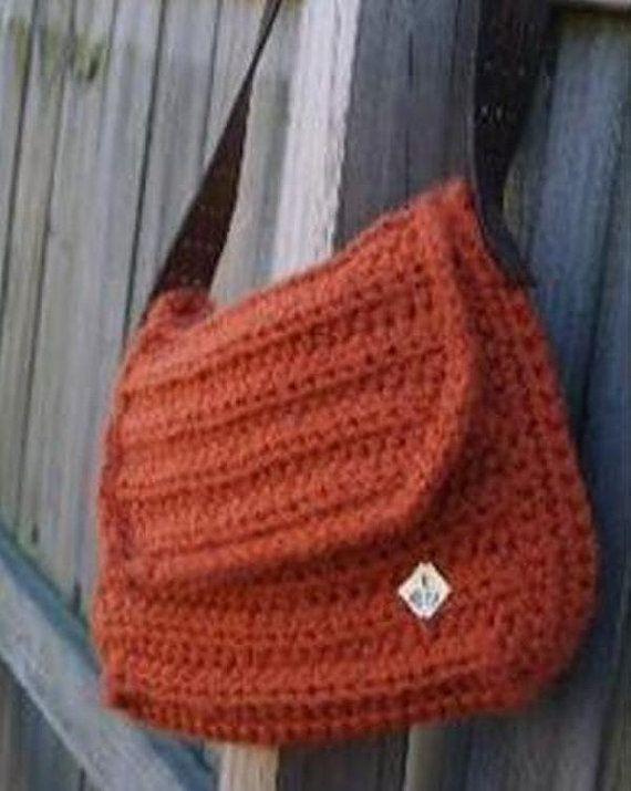 Easy Crochet Messenger Bag Pattern