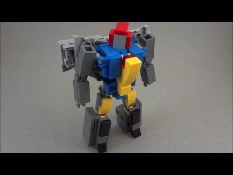Lego Transformers Mini Soundwave Tutorial Awesome Youtube Lego