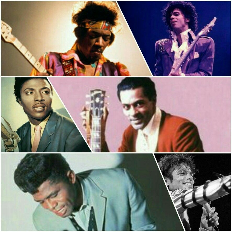 James brown and little richard