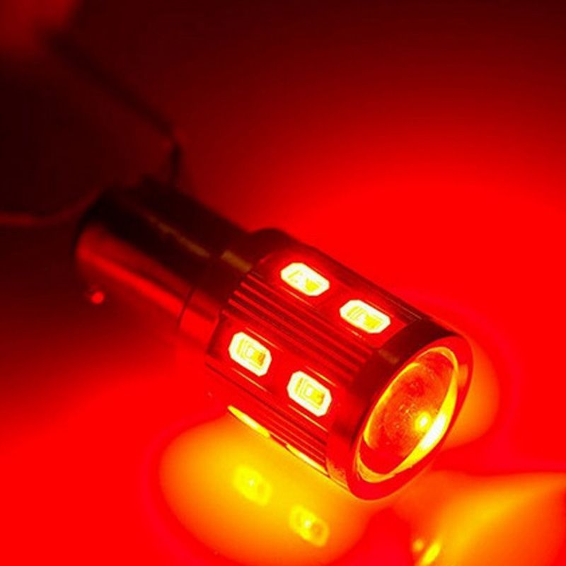 Car Brake Lights Stop Lamp Turn Signal Motorcycle Brake Lights Auto Strobe Flash 1157 Red Silver Front Car Tail Led Bulb Car Lights Led Bulb Bulb