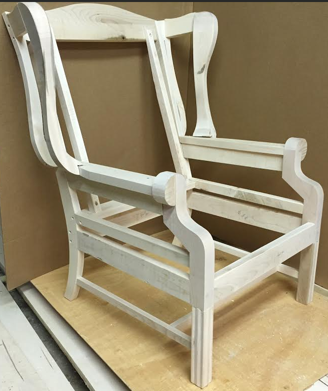 Superb 1020 Wing Chair Frame