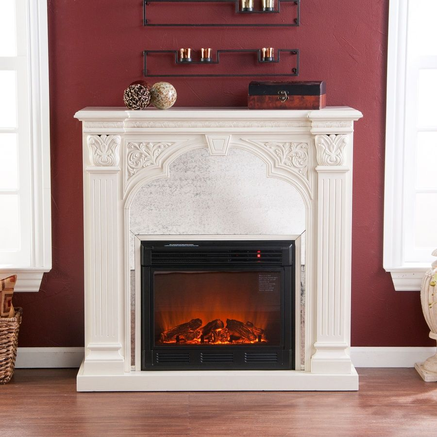 Luxembourg Ivory Fireplace at HSN.com | Home ~ Furnishings ...
