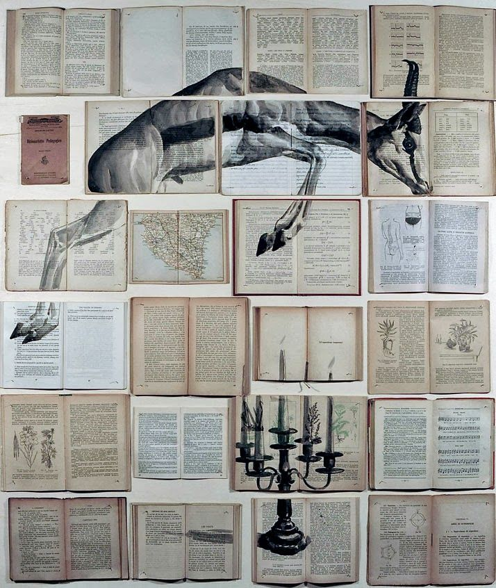 Book art by Ekaterina Panikanova,